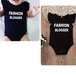 Other - NWT Fashion Blogger Onesie for Babies!